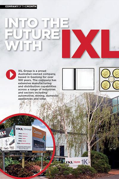 Into the Future with IXL
